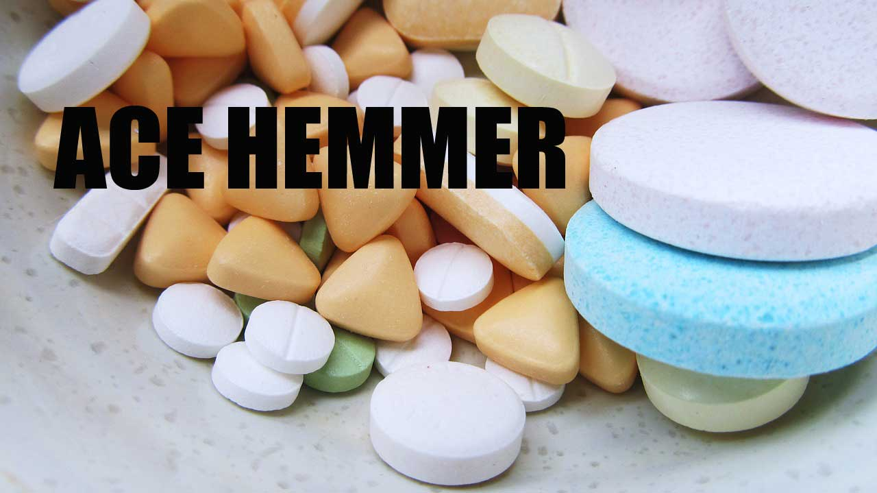 ACE-Hemmer ( Angiotensin-konvertierendes Enzym)