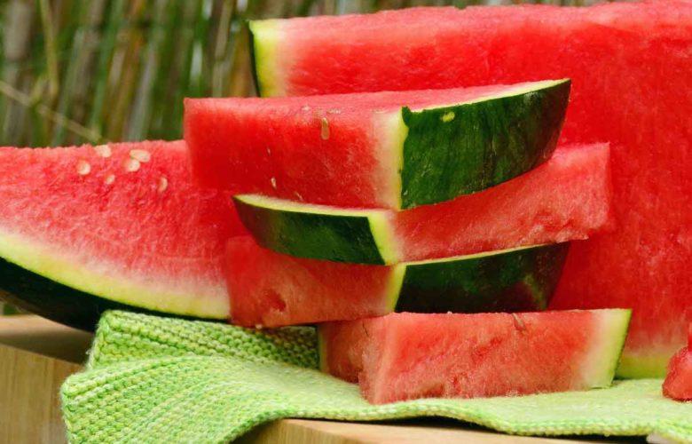 Wassermelonen senken Bluthochdruck